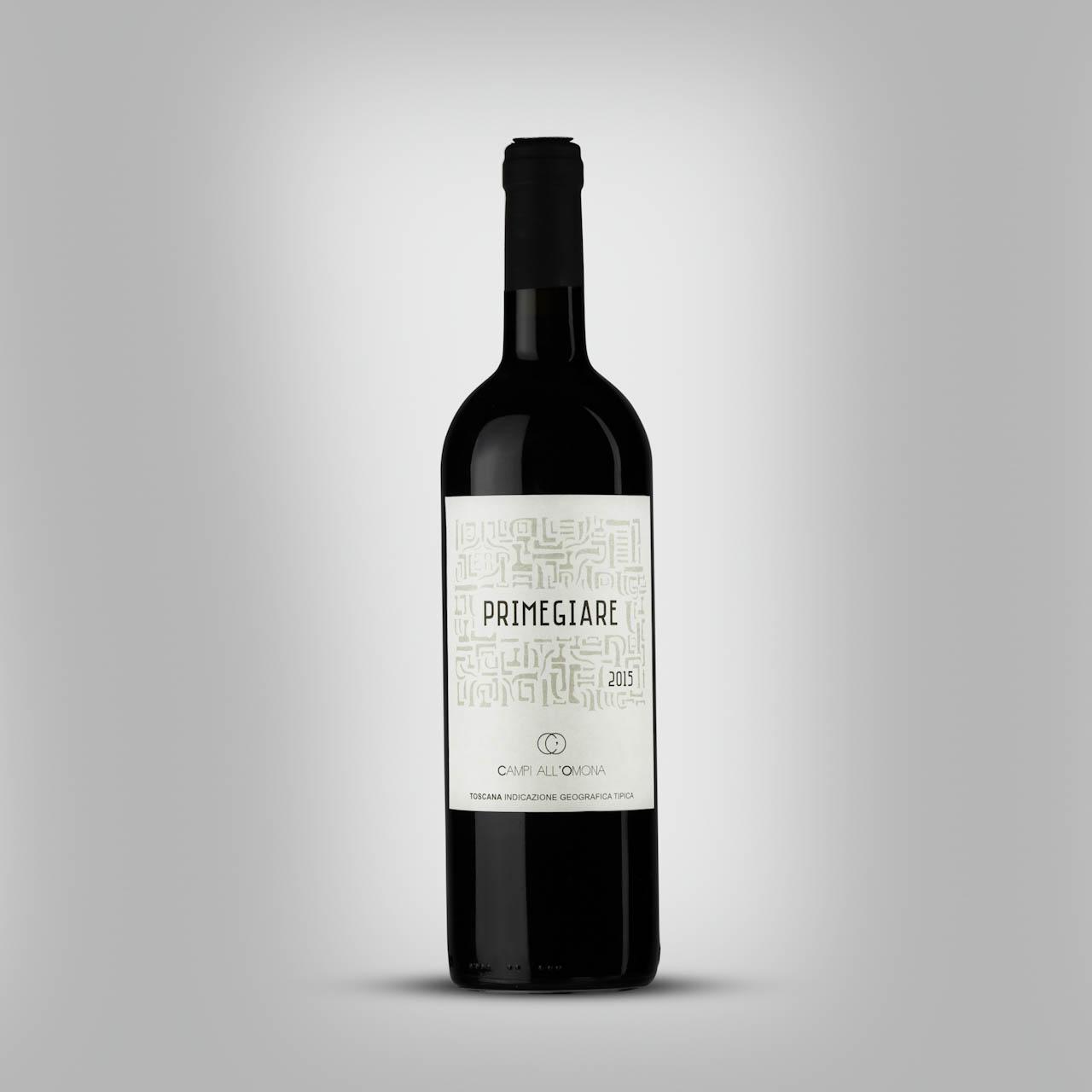 Vino Primegiare IGT Toscana Rosso Sangiovese in purezza affinato in giare di terracotta Azienda Agricola Campi All'Omona Potassa Gavorrano